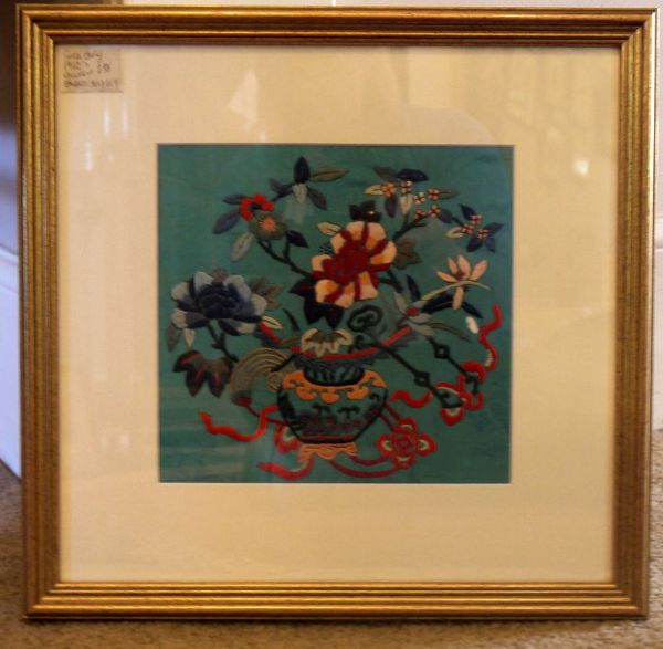 Original Early 1900's Chinese Embroidery - GG9